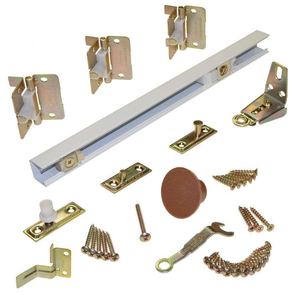 Johnson Hardware 100fd Bifold Closet Door Track And Hardware Kit