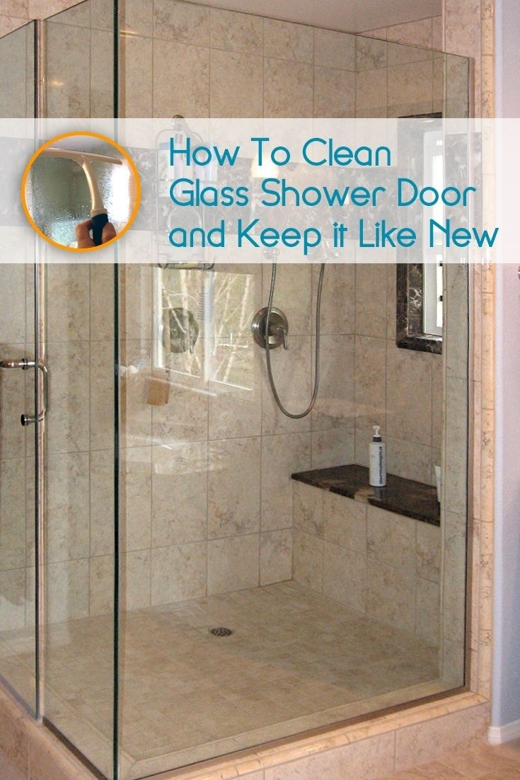 Remedies For Hard Water Stains On Shower Doors