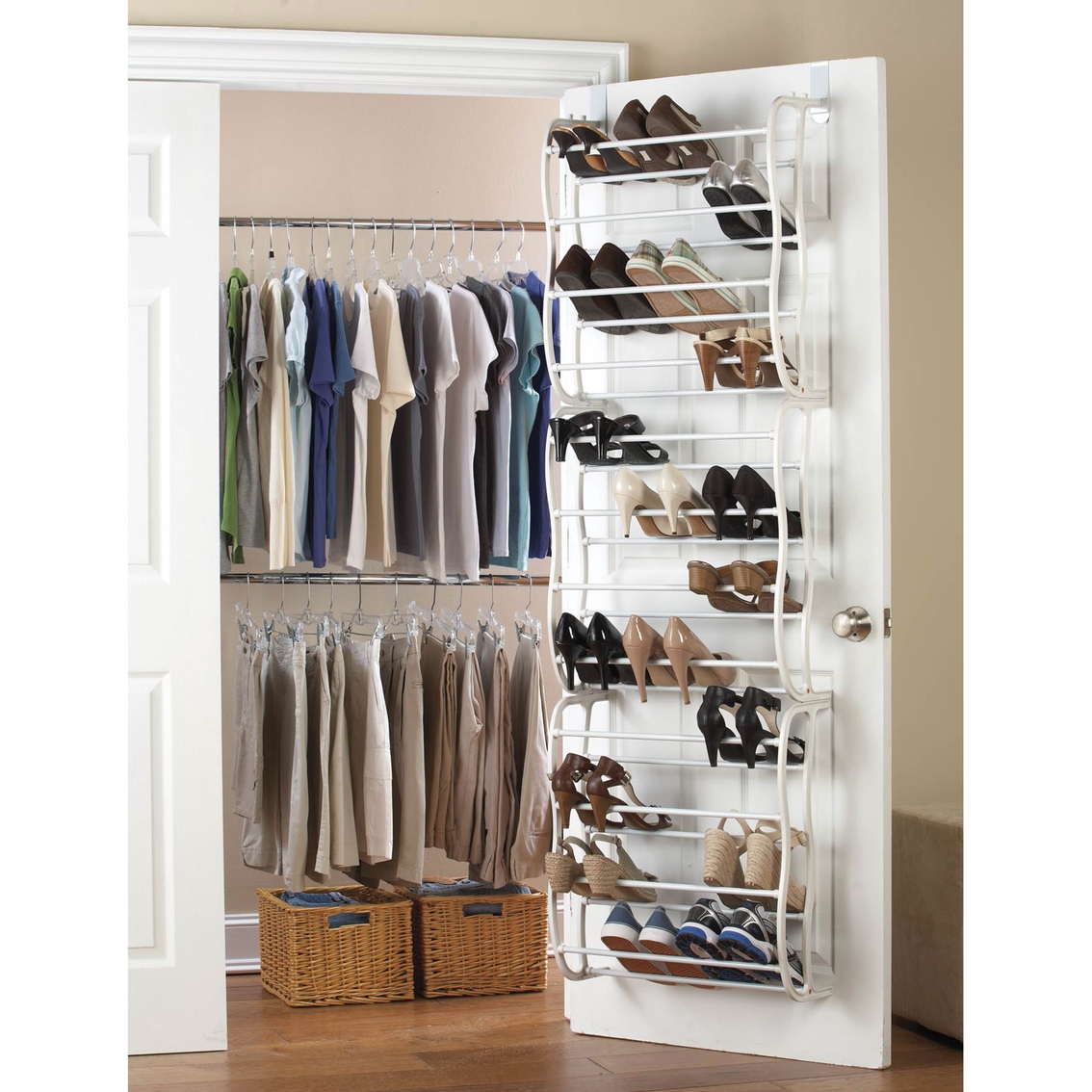 Shoe Storage Closet Door