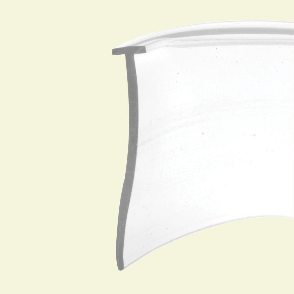Tapered Shower Door Bottom Seal And Sweep T Type