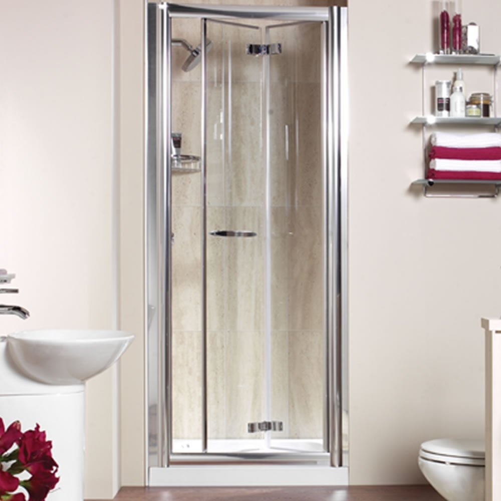 Plastic Retractable Shower Door