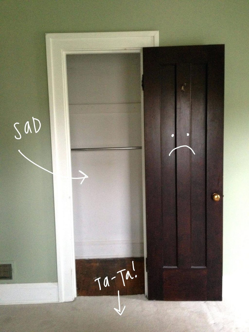 Short Doors For Closet