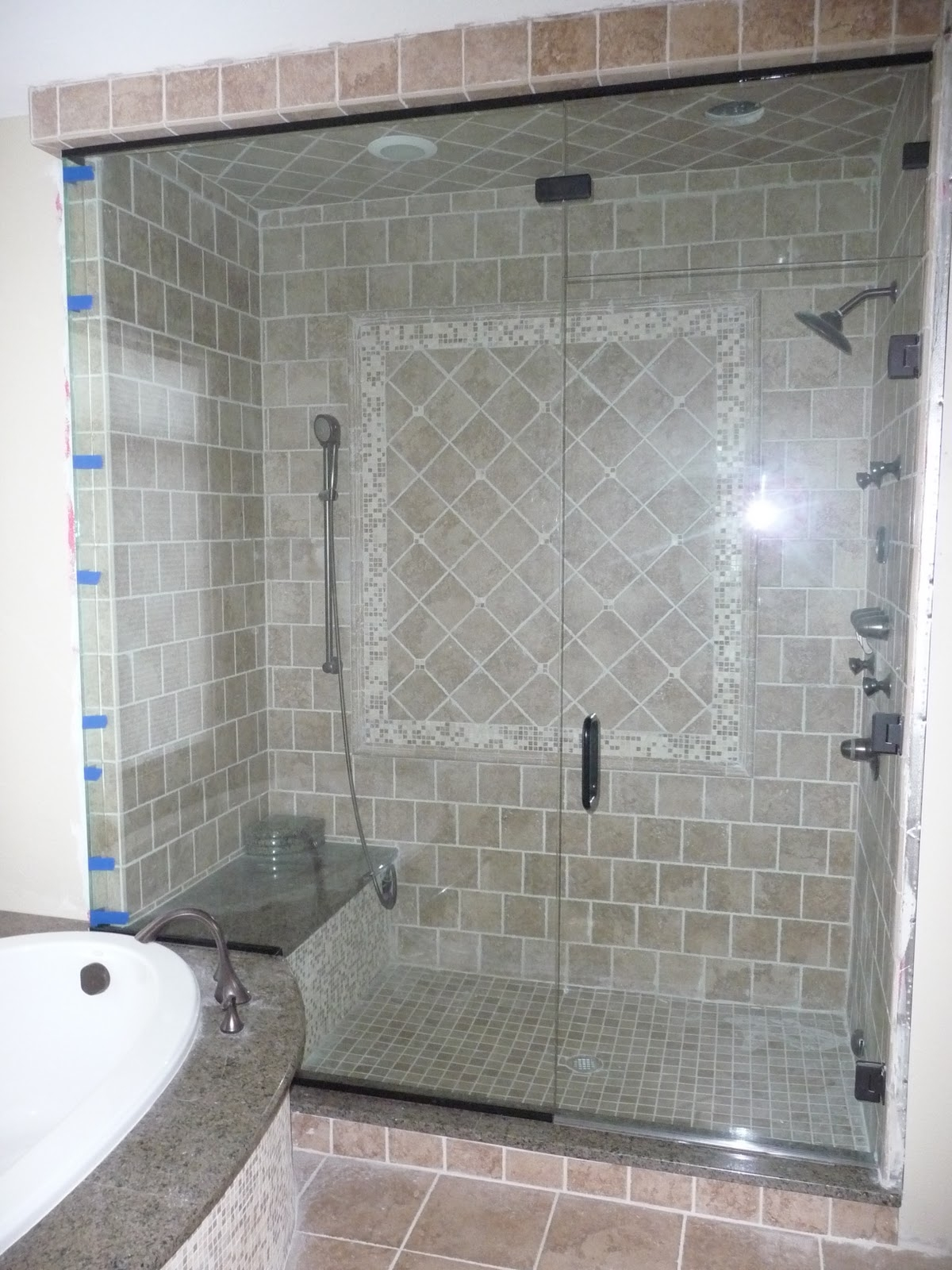 Work Right Master Design Shower Doors