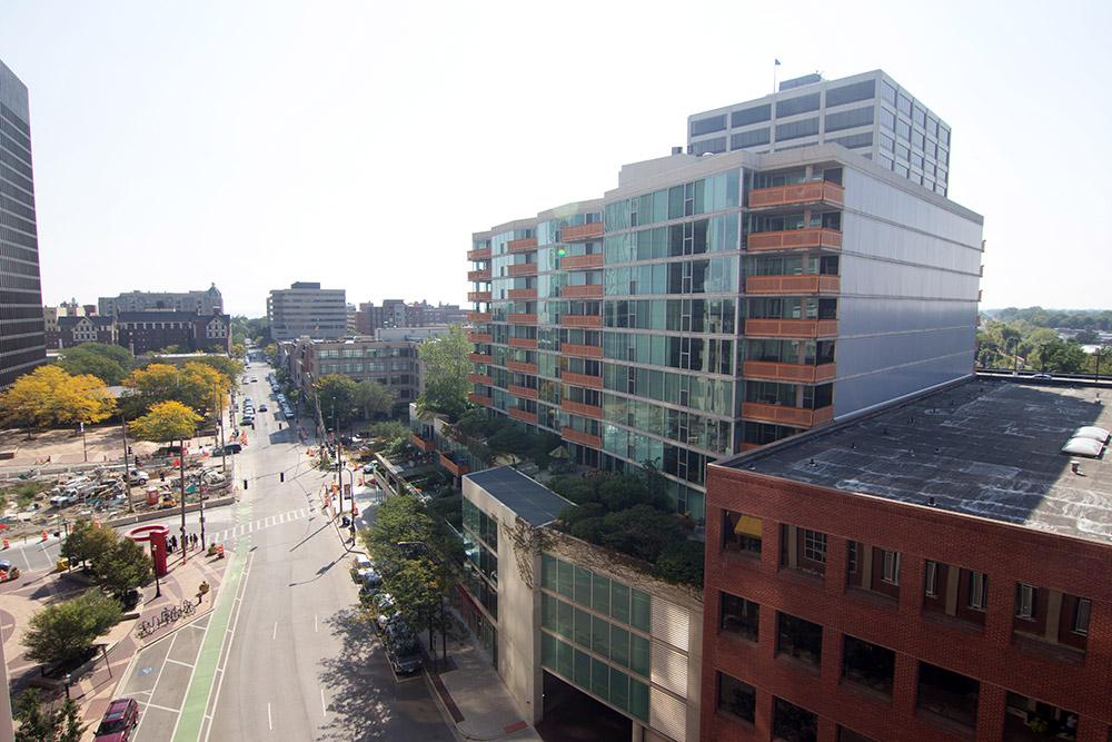 Evanston suburb