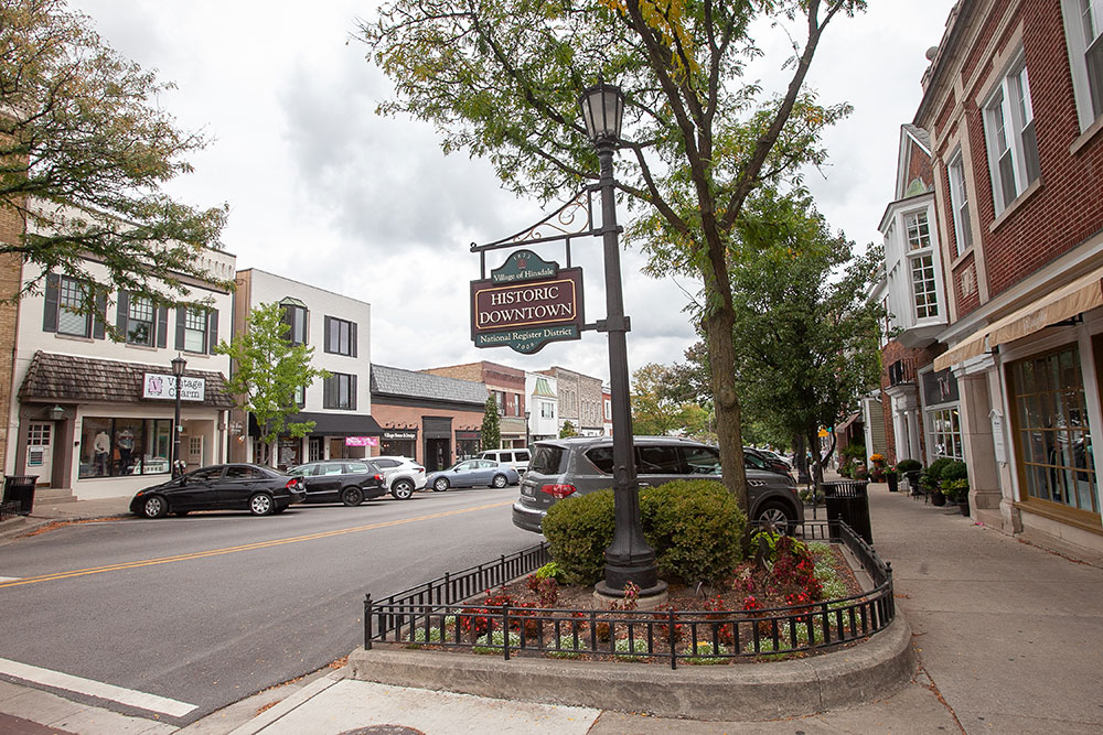 Hinsdale suburb