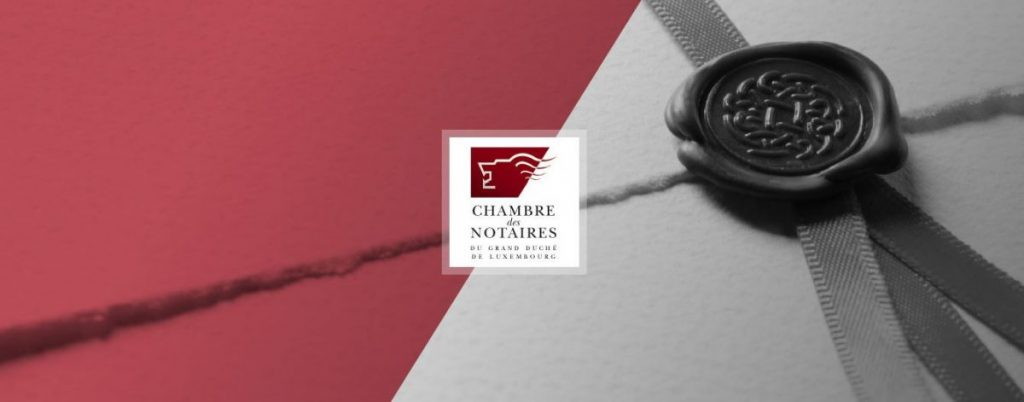 CHAMBRE DES NOTAIRES DU GRAND-DUCHE DE LUXEMBOURG