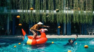 Aqua park & Swimming pool