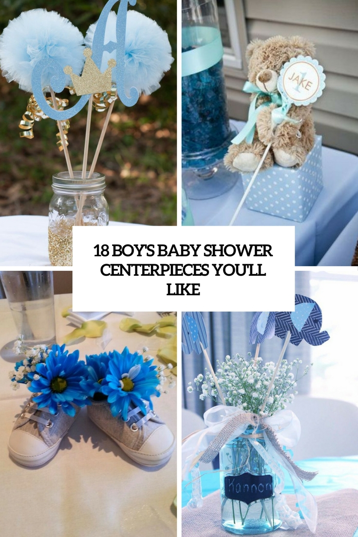 18 Boys Ba Shower Centerpieces Youll Like Shelterness within sizing 735 X 1102