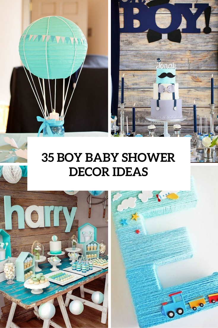 35 Boy Ba Shower Decorations That Are Worth Trying Digsdigs inside measurements 735 X 1102