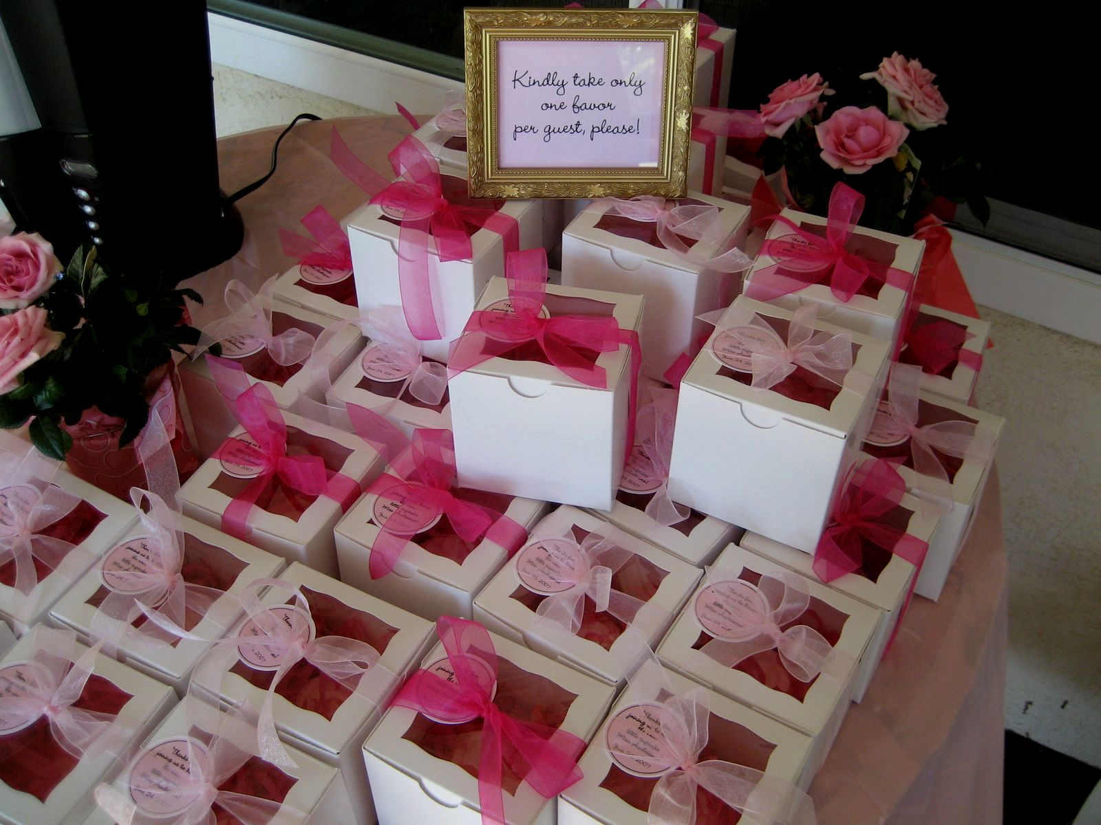 Ba Shower Favors Ideas For Girls Decorating Of Party within size 1600 X 1200