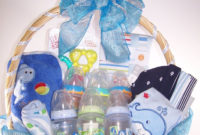 Ba Shower Gift Basket Ideas For Boy Boy Gifts Its A Boy And Gift intended for proportions 736 X 1104