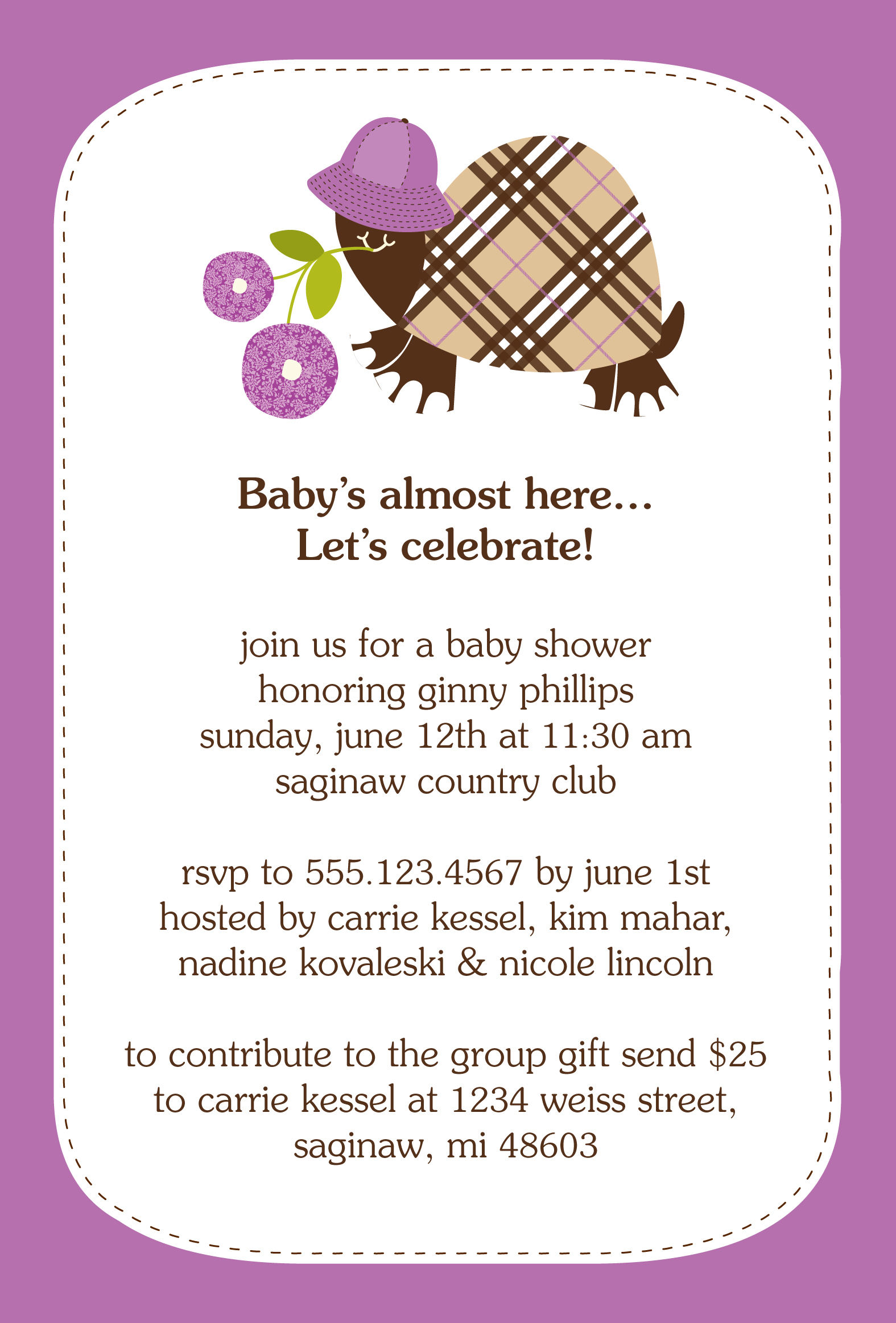 Baby Shower Gift Card Verses • Baby