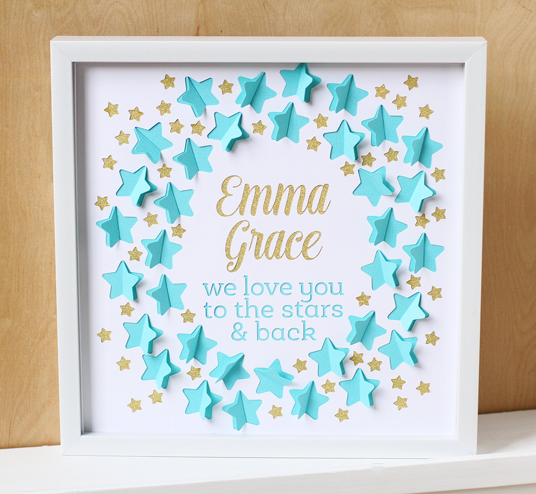 Ba Shower Guest Book Love You To The Stars Nursery Art intended for measurements 1086 X 1000