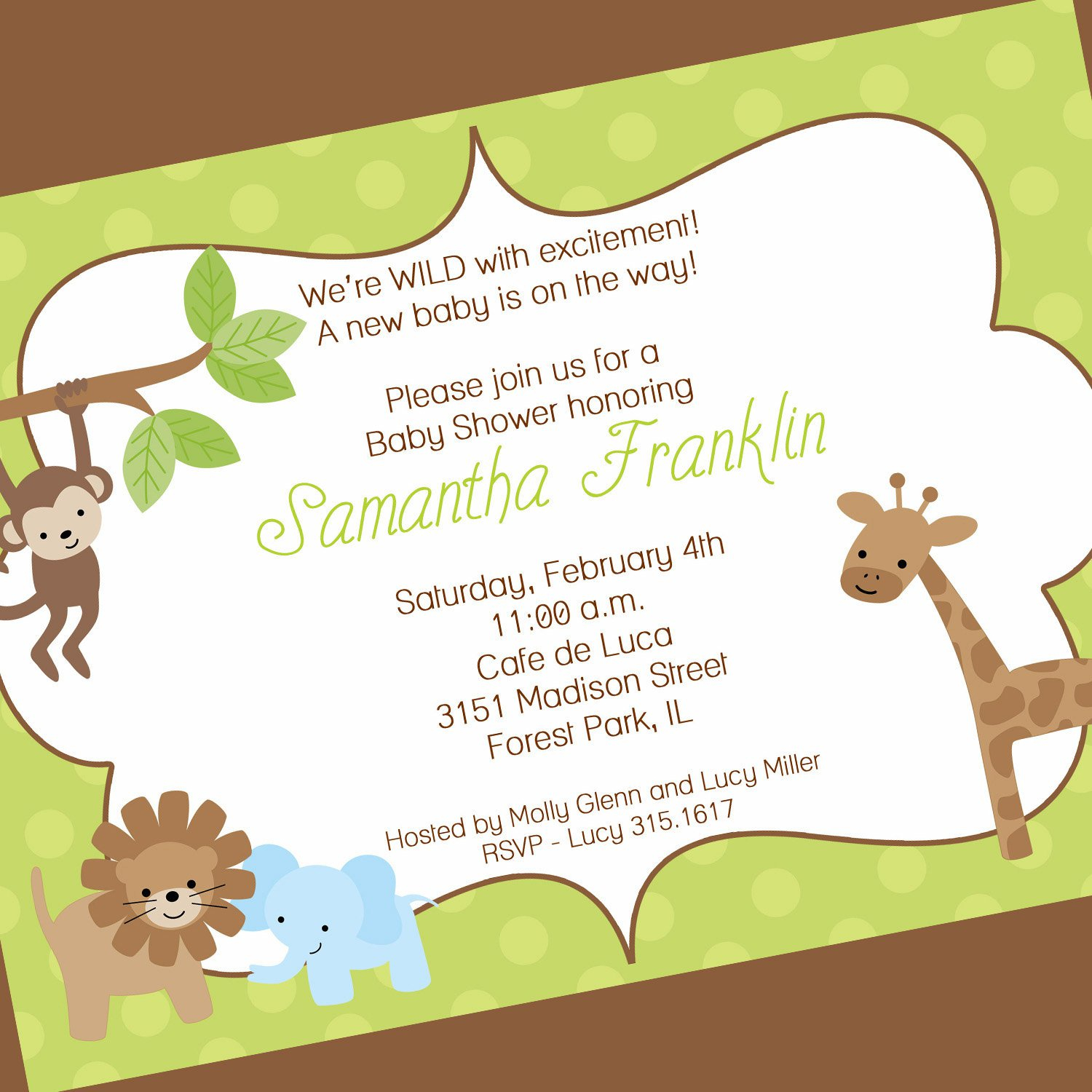 Ba Shower Invitation Ba Shower Invitation Wording New in measurements 1500 X 1500