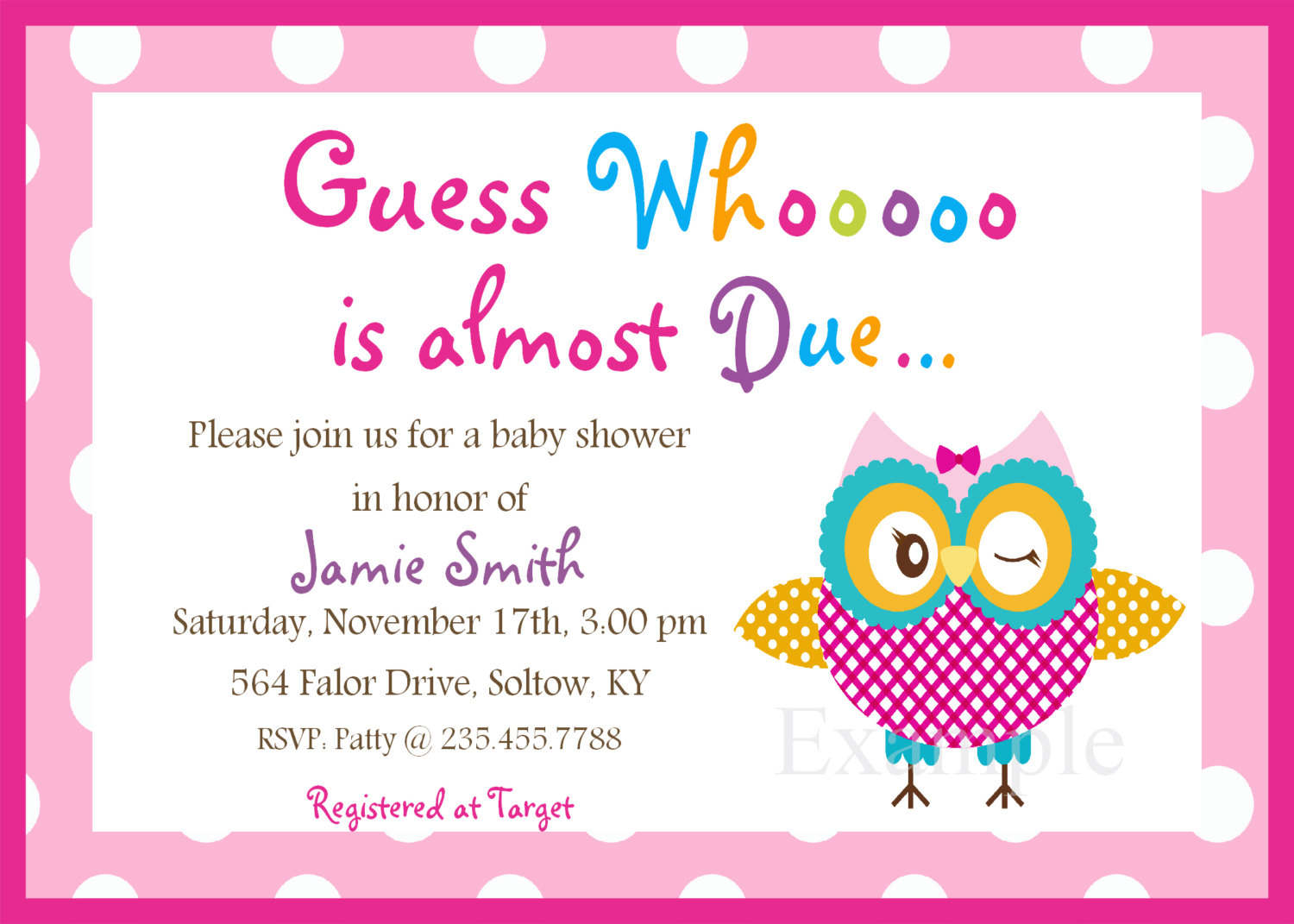 E Invitations For Baby Shower