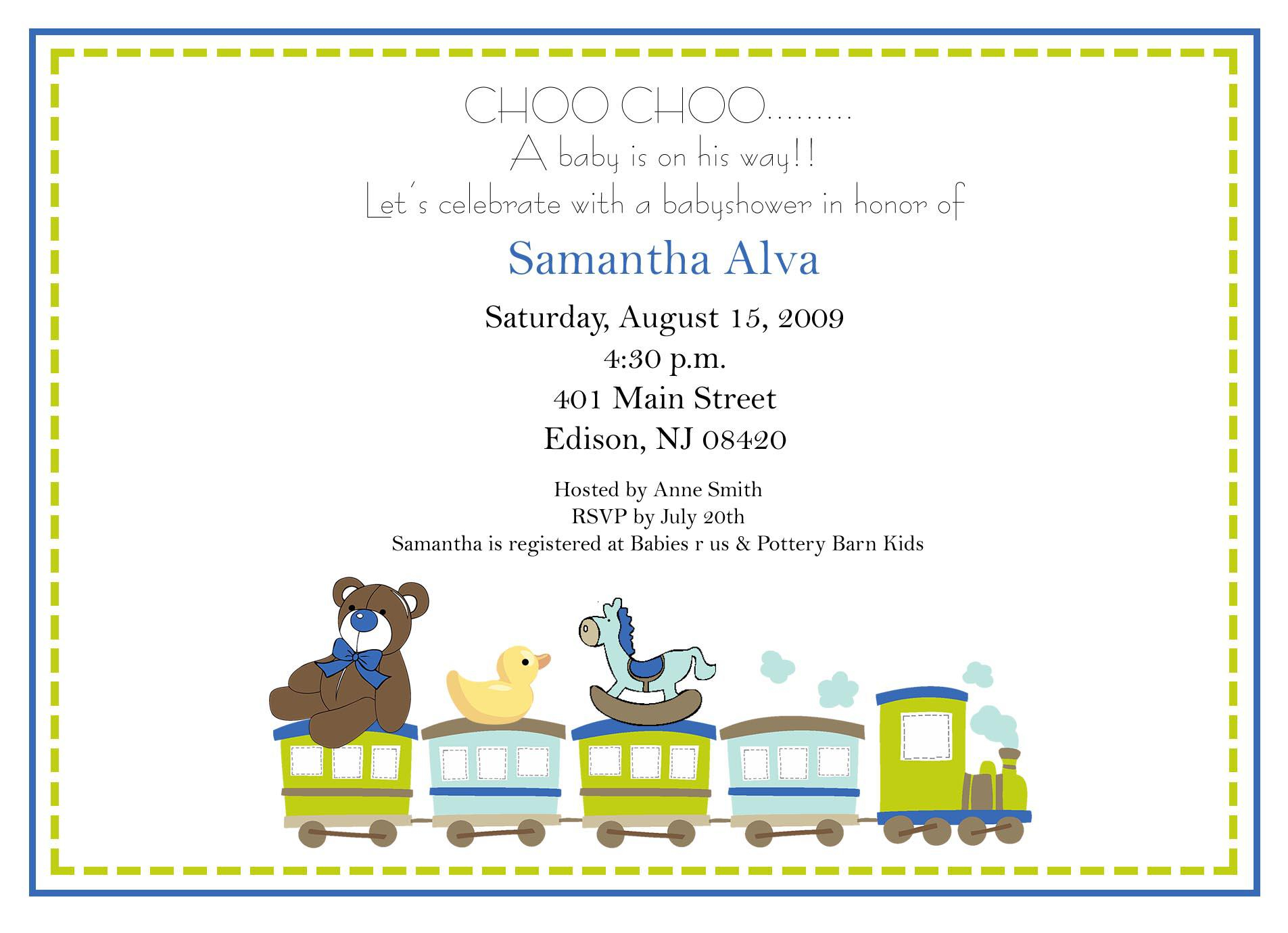 Baby Shower Invitations Wording For Books Instead Of Card