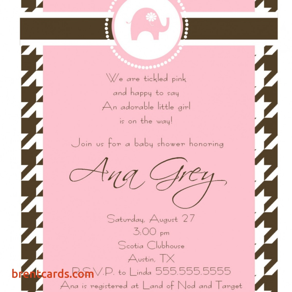 Girl Baby Shower Invitation Wording Spanish O Showers Design