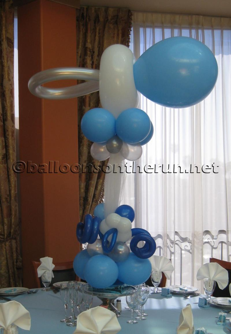 Balloons On The Runparty Decorations R Us Balloon Centerpieces for dimensions 800 X 1155