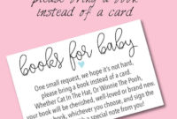 Book Ba Shower Invitations Wording Ideas Cutestbashowers intended for sizing 736 X 1128