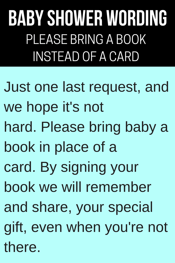 Book Ba Shower Invitations Wording Ideas Cutestbashowers pertaining to sizing 735 X 1102
