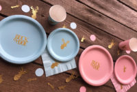 Buck Or Doe Gender Reveal Party Or Ba Shower Cups Plates for measurements 1500 X 1062