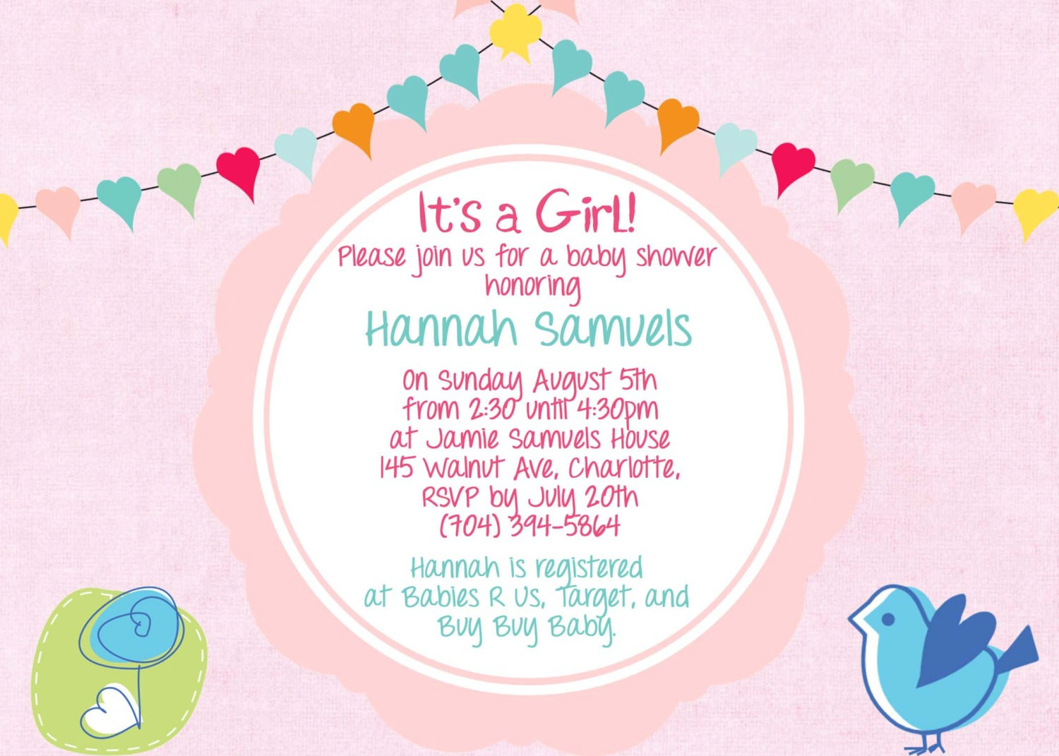 Gift Card Baby Shower Invitation Ideas Baby Showers Design