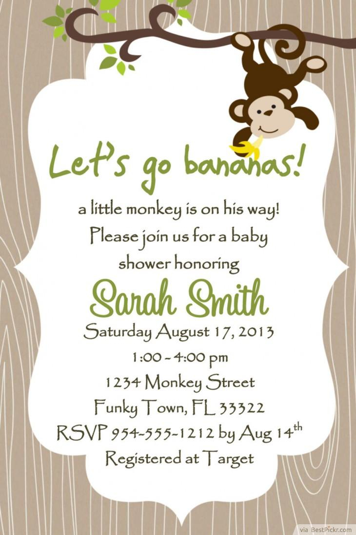 Coed Ba Shower Invitations New Trend All Invitations Ideas with regard to measurements 730 X 1095