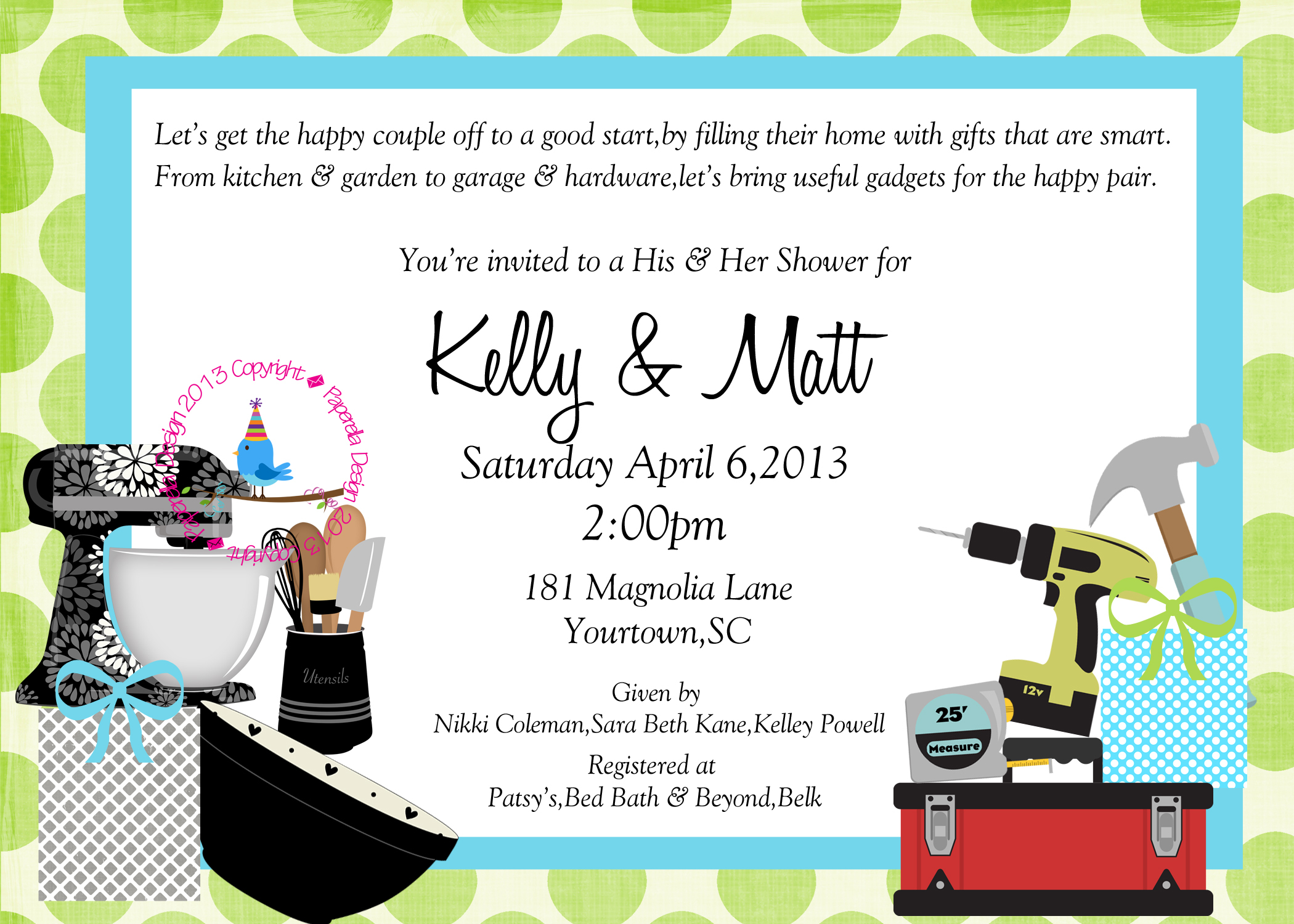 Couples Bridal Shower Invitations Couples Bridal Shower within sizing 2100 X 1500