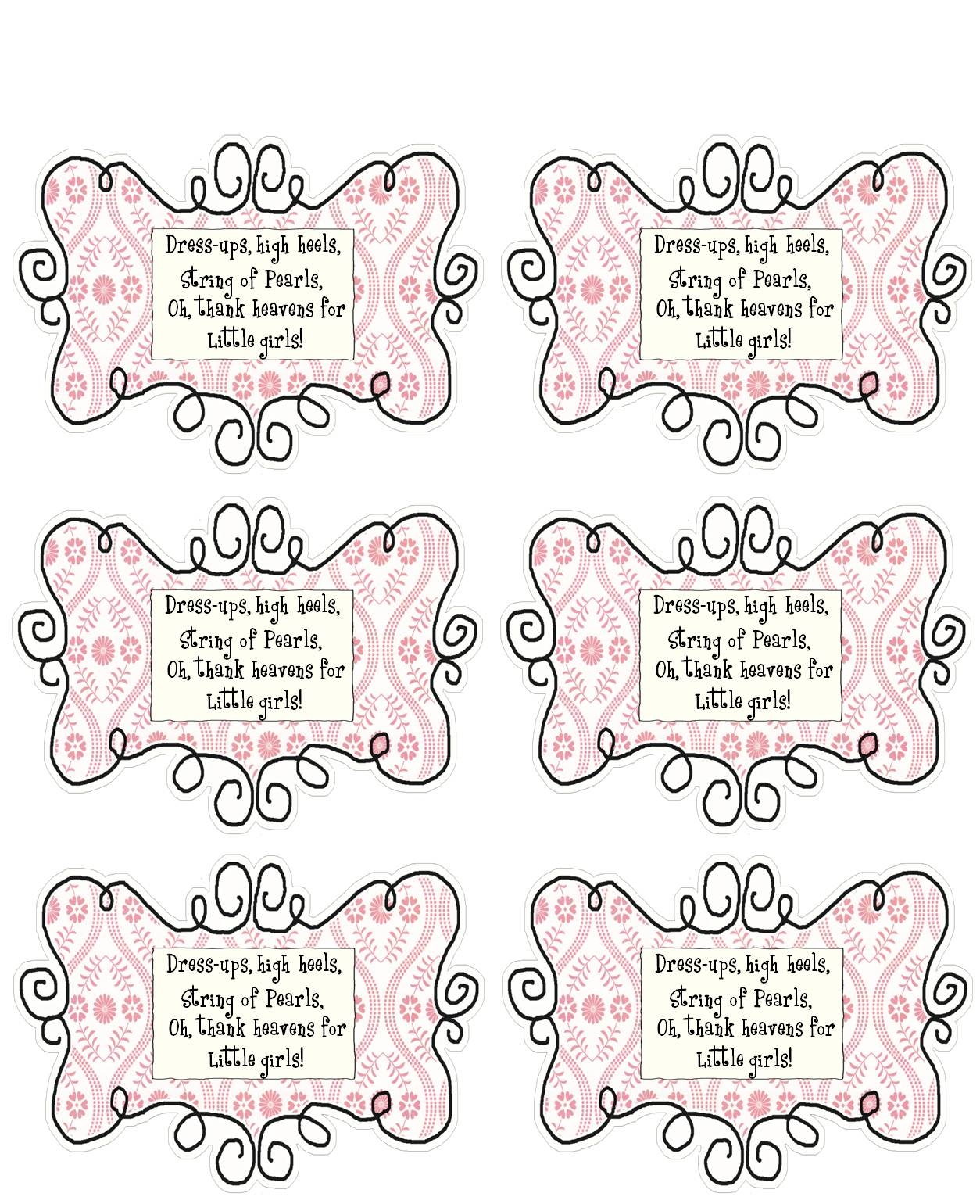 Cute Baby Shower Favor Tag Sayings Baby Showers Design