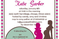Double Ba Shower Invitations Theruntime with regard to dimensions 1143 X 1600