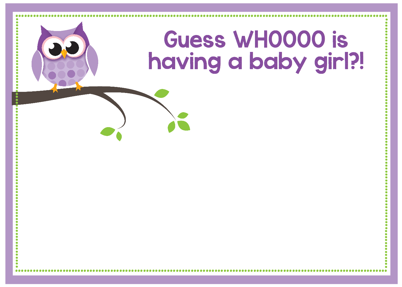 Free Printable Owl Ba Shower Invitations Other Printables regarding proportions 1400 X 1000