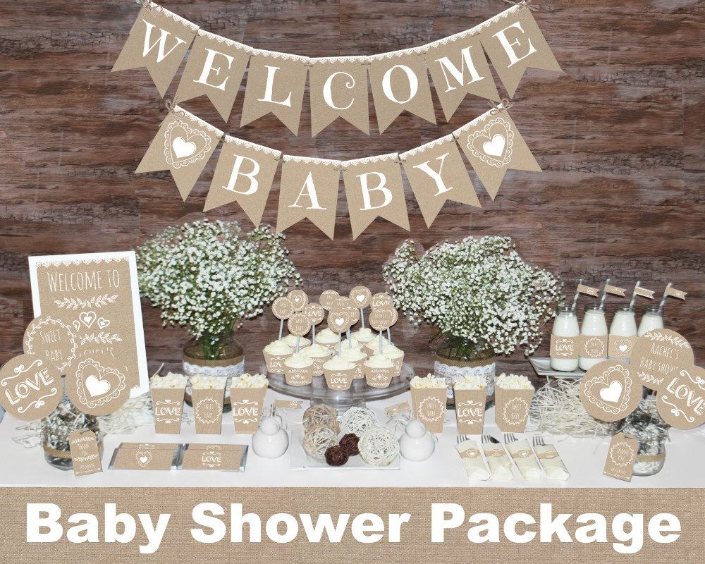 Neutral Baby Shower Favors Baby Showers Design