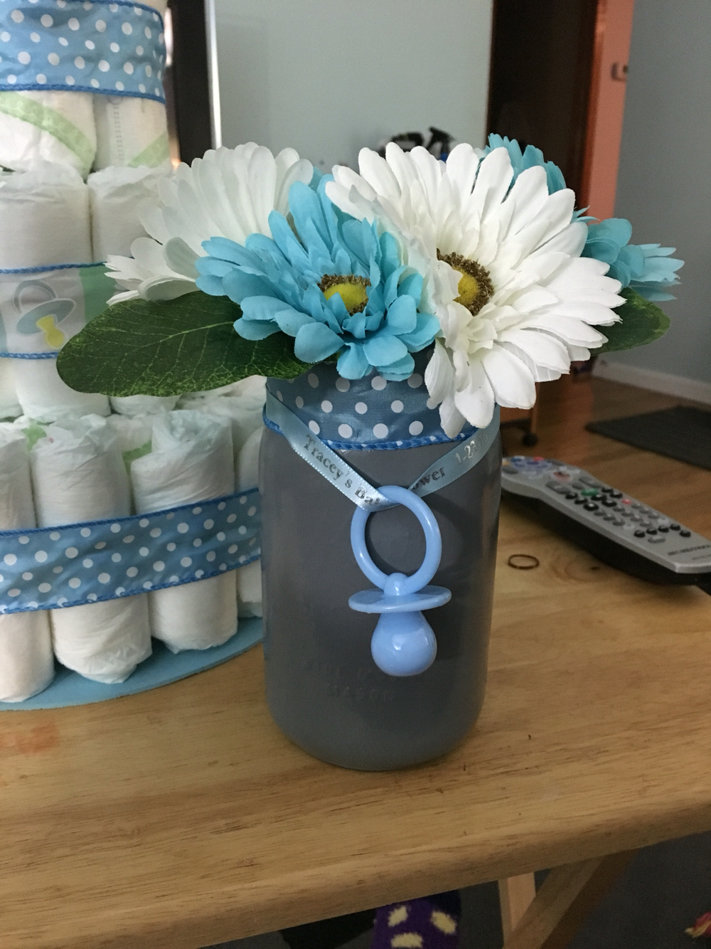 Incredible Ideas Centerpieces For Boy Ba Shower Inspirational in proportions 1000 X 1334