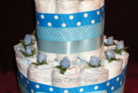 Incredible Ideas Diaper Cakes For Ba Showers Cool Inspiration pertaining to dimensions 1200 X 1600