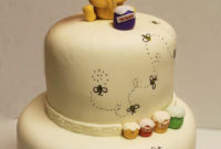 Layers Of Love Winnie The Pooh Shower Cake intended for sizing 1067 X 1600