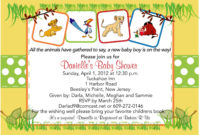 Lion King Ba Shower Invitation for proportions 1500 X 997