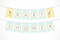 Lots Of Ba Shower Banner Ideas Decorations throughout size 1000 X 1000
