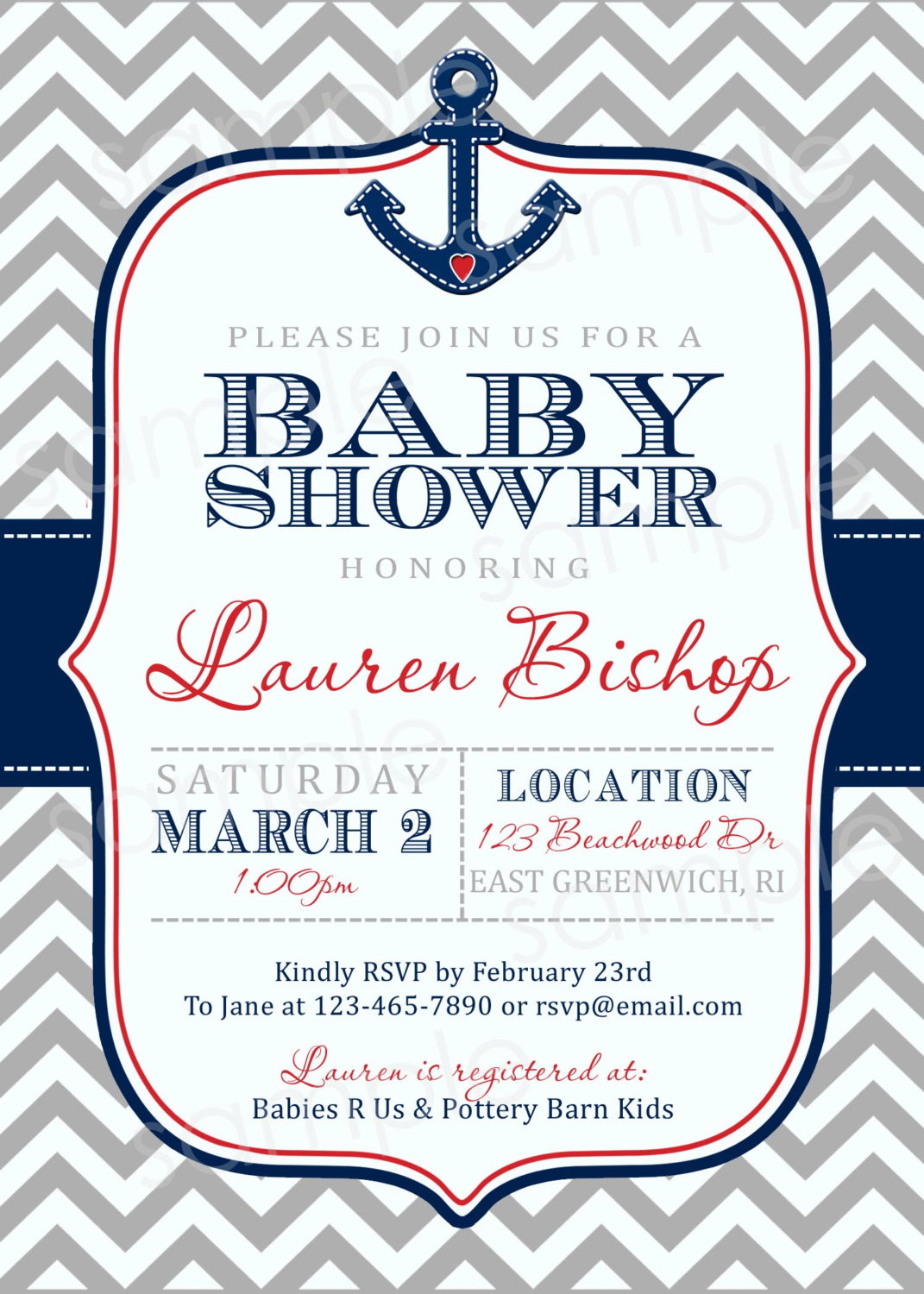 Nice Ideas Anchor Ba Shower Invitations Crafty Inspiration 9 in proportions 1071 X 1500