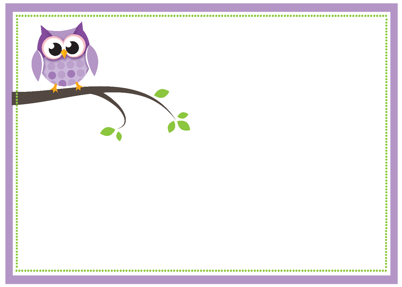 Purple Owl Ba Shower Printable Pack Crazy Little Projects intended for proportions 1400 X 1000