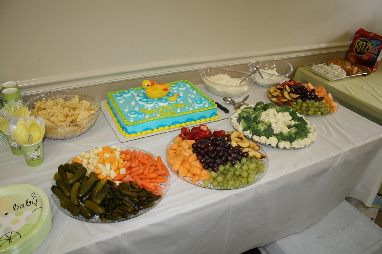 Easy Baby Shower Food Ideas Baby Showers Design