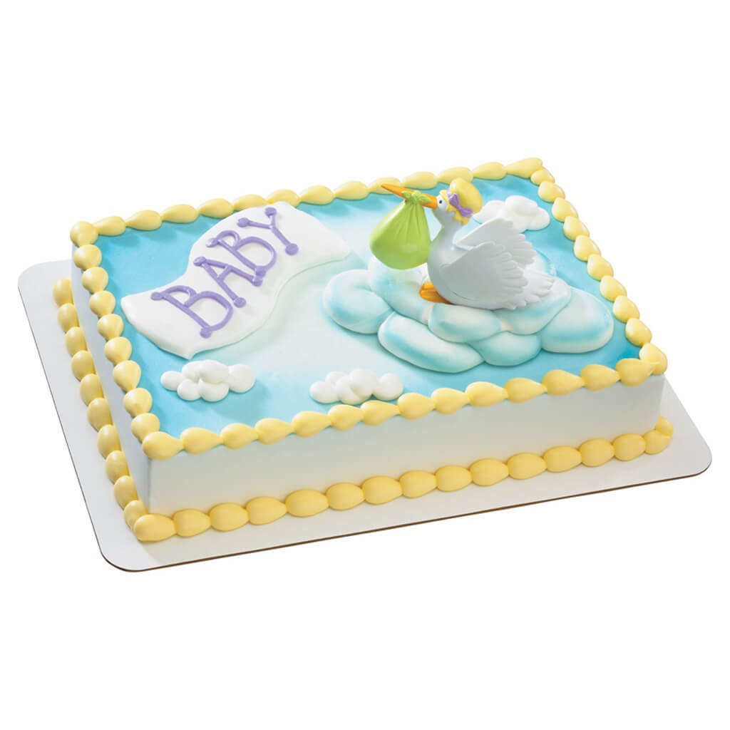 Miraculous Kroger Bakery Baby Shower Cakes Baby Showers Design Personalised Birthday Cards Veneteletsinfo