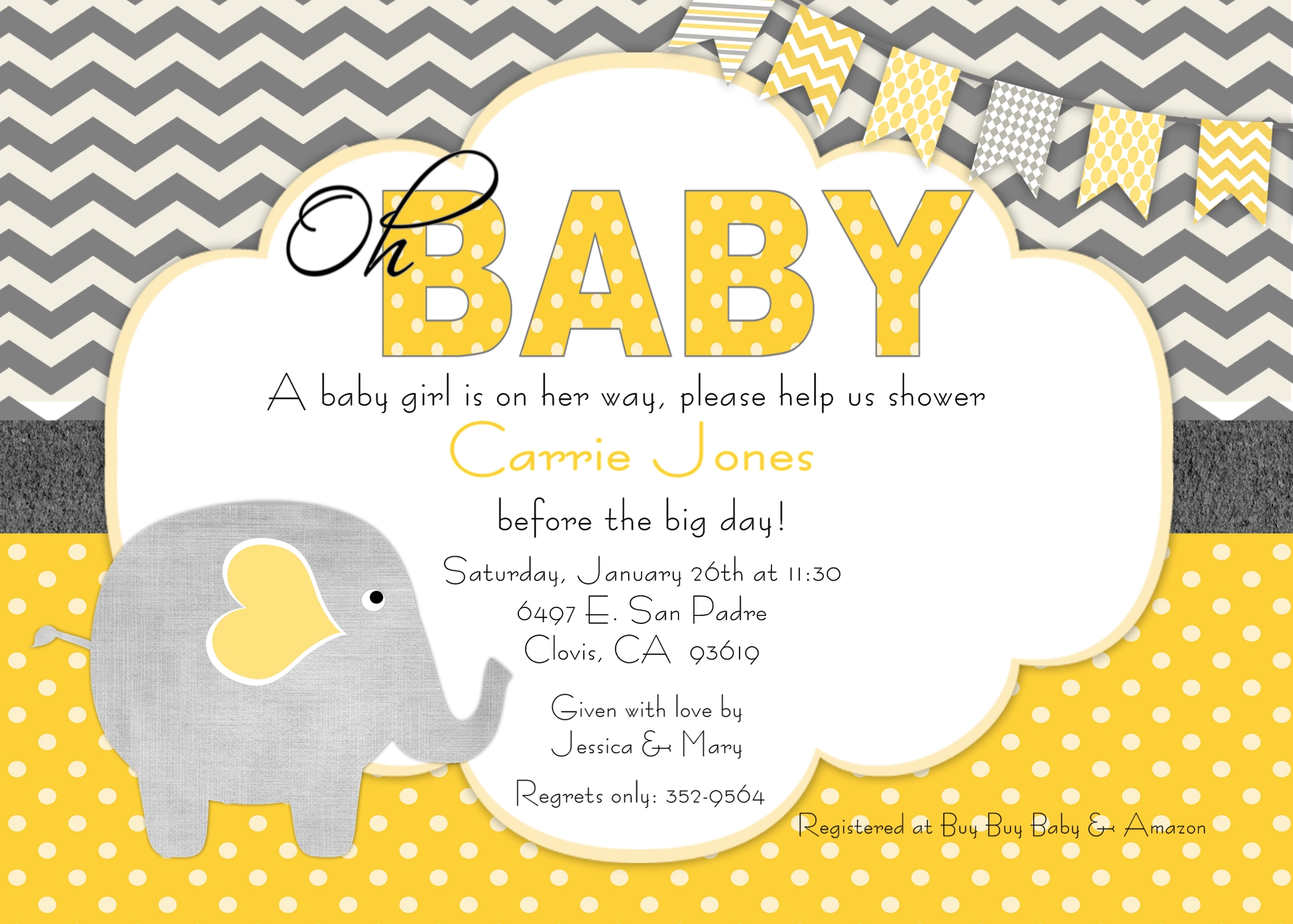 Baby Shower Email Invitation Ideas