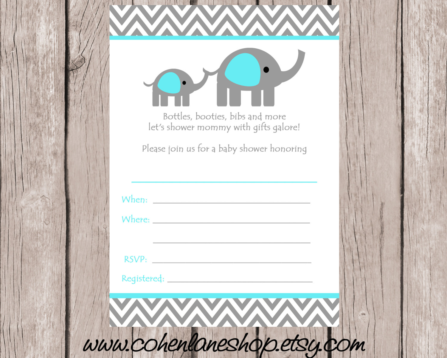 Template Fill In Ba Shower Invitations for dimensions 1500 X 1200