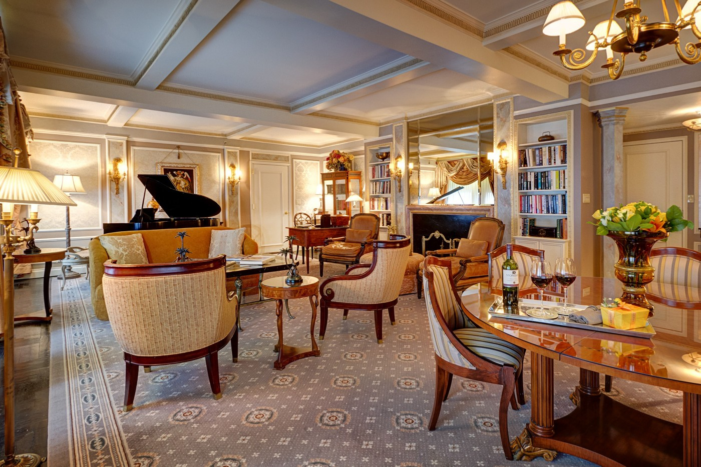 The Hotel Elysee Midtown Manhattan Luxury Boutique Hotel Rooms Nyc intended for measurements 1400 X 933
