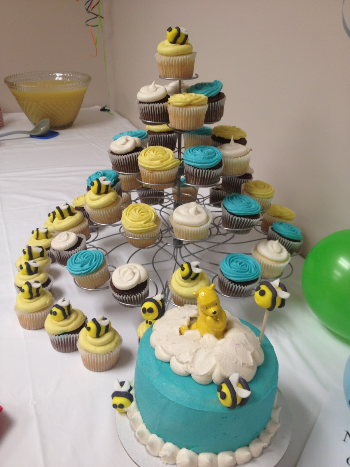 Themes Ba Shower Winnie The Pooh Ba Shower Cake Images With intended for dimensions 1200 X 1600