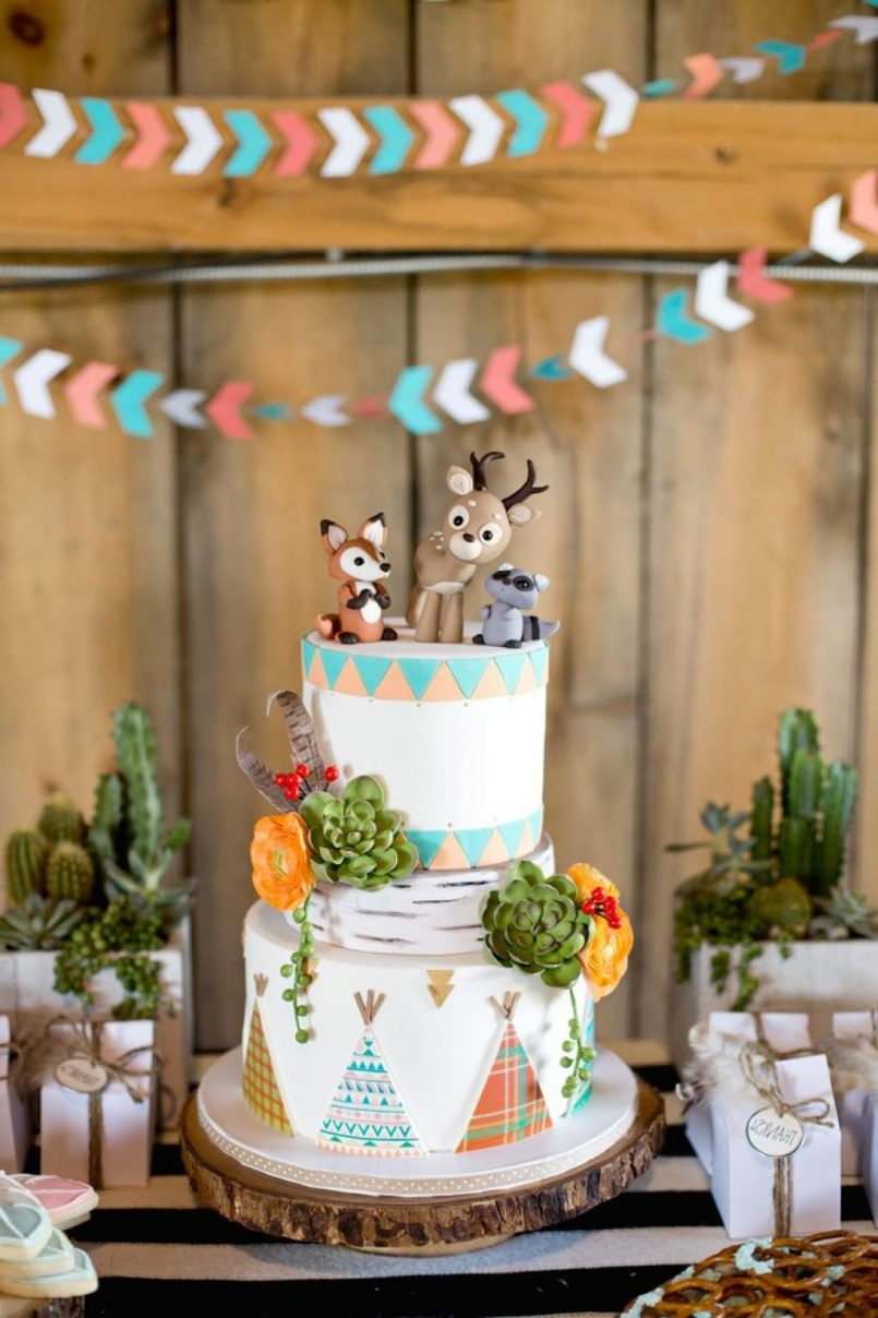 Themes Ba Shower Woodland Themed Ba Shower Food As Well As throughout measurements 805 X 1208