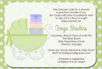 Tips To Write Ba Shower Invite Wording All Invitations Ideas for size 1500 X 1071