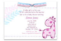 Wording For Ba Girl Shower Invitations Theruntime throughout measurements 2205 X 1680