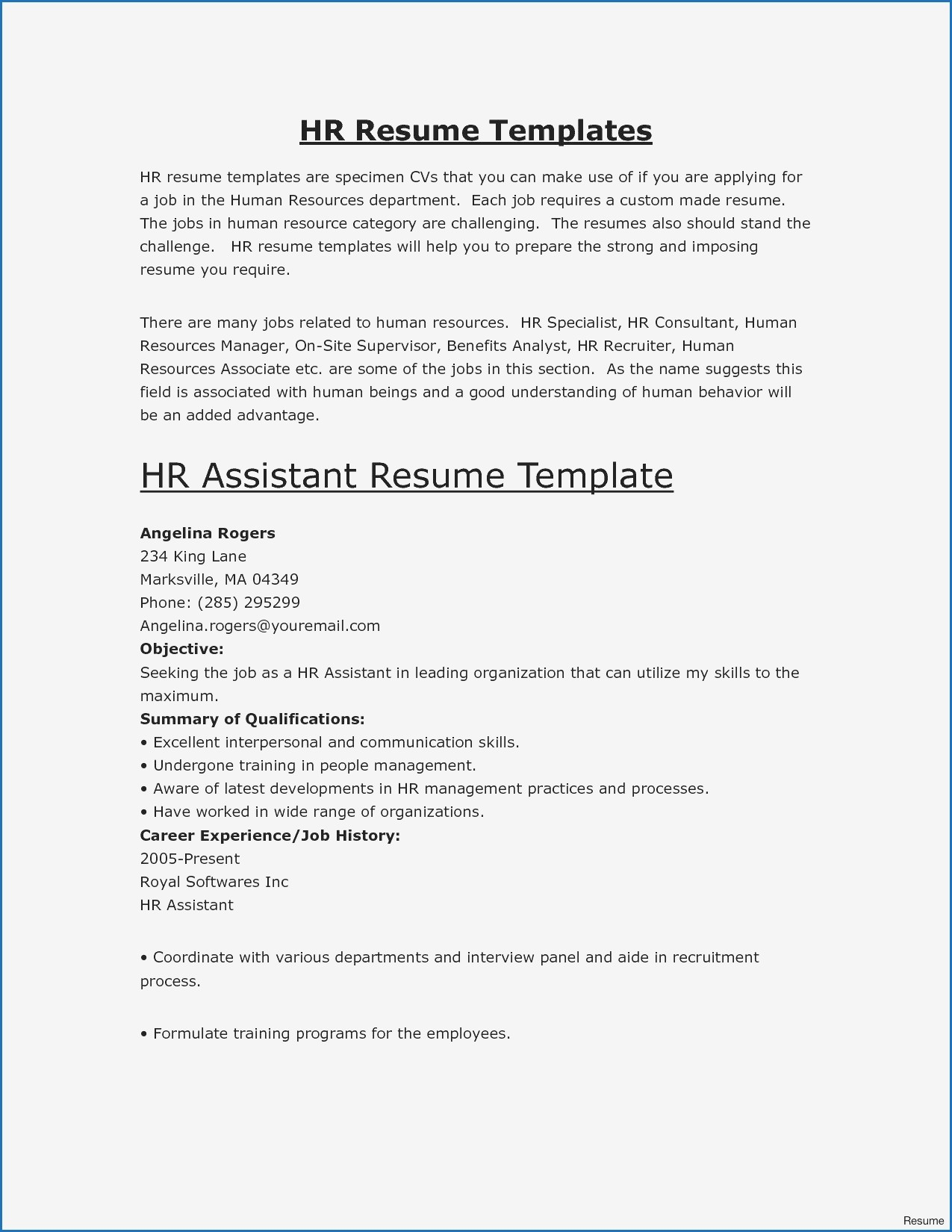 Curriculum Vitae Format For Bank Job Cool 8 Resume Examples
