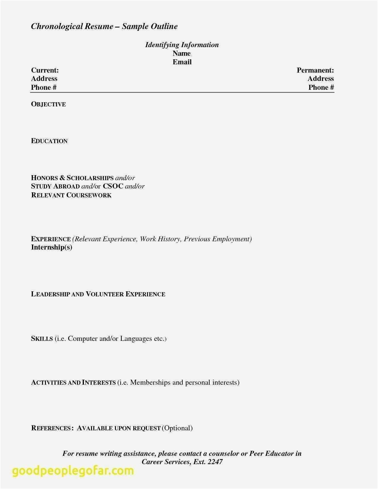 Cv Format For Job Pdf Free Download Cool 21 Best Best Resume